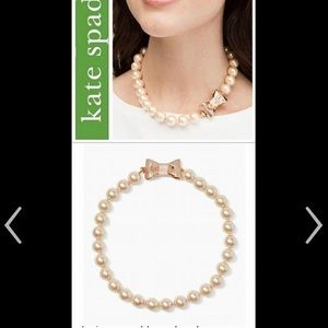 NWT Kate Spade All Wrapped Up Necklace.
